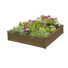 plastic raised garden beds garden center the home depot