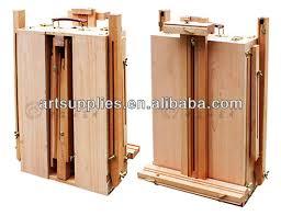french easel wooden sketch box portable folding art artist tripod