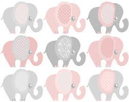 pink and grey elephant baby shower mint green elephant clipart baby shower mint and grey nursery