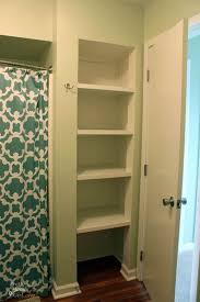 Small Bathroom Closet Ideas Charming Design Bathroom Closet Shelving Enjoyable 25 Best Ideas