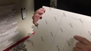 tile backsplash adhesive mat how to install kitchen counter top back splash self adhesive