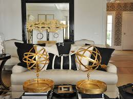 Home Design Gold Cool 40 Black White And Gold Living Room Ideas Design Ideas Of