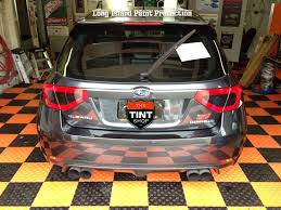 tail light tint installation the tint shop inc taillight tint