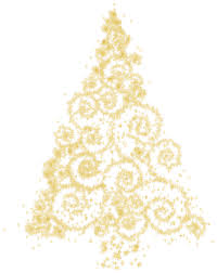 gold christmas gold christmas tree png clip best web clipart
