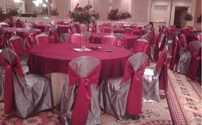 silver chair covers all seasons party linen