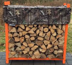 furniture interesting firewood rack with wooden design and wooden