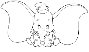 dumbo coloring pages to print coloring home