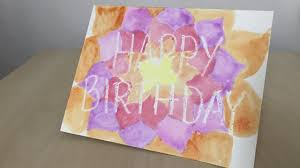 diy homemade happy birthday card easy crafts for kids youtube