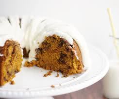 pumpkin chocolate chip bundt cake 5boysbaker