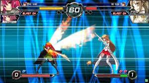 imagenes juegos anime dengeki bunko fighting climax primer tráiler del juego de peleas