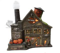 4044878 harley davidson ghost riders club haunted house ceramic