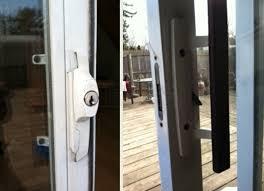 sliding glass door latch replacement sliding glass door lock grill