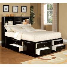 impressive best king size storage bed with drawers intended for