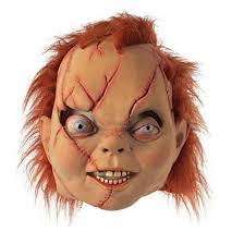 Halloween Costumes Chucky Shop 2pcs Chucky Head Mask Scary Evil Chucky Head Mask