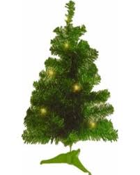 amazing deal on 2 ft green tinsel light tree