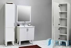 White Tall Bathroom Cabinet by White Freestanding Bathroom Furniture Descargas Mundiales Com