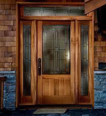 How To Build A Solid Wood Door Modern Solid Wood Exterior Front Doors