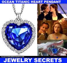 blue heart necklace jewelry images Ocean titanic blue heart pendant jewelry secrets jpg