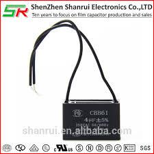 4uf capacitor 250vac cbb61 ceiling fan capacitor 4uf capacitor