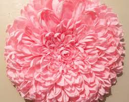 Flower Wall Decor Paper Flowers Wall Decor Wedding Decor Home Decor