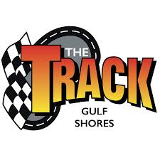 gulf racing logo the track family recreation center coast360
