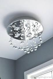replace light fixture with recessed light replacing ceiling light fixture with recessed lighting crystal