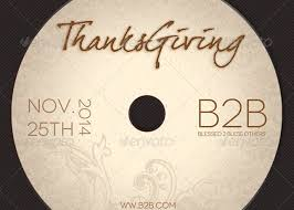 thanksgiving cd thanksgiving charity flyer and cd template godserv market