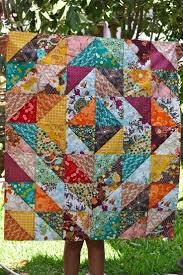 squares made of triangles make a quilt simple ive been looking