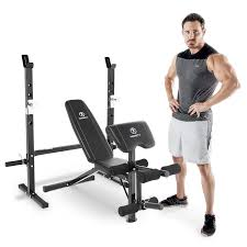 Professional Weight Bench Marcy Olympic Weight Bench With Bar Catches Leg Developer