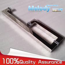 Frameless Shower Door Handle by Aliexpress Com Buy Frameless Shower Door Square Tube Handle L