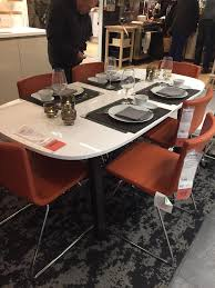 Ikea Dining Set by Brand New Boxed Ikea Dining Table Brown Black Vastana Underframe