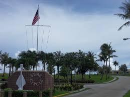 Guam Flag Flag Circle