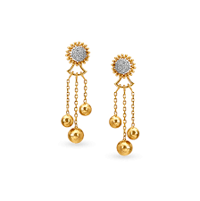 earrings from by tanishq