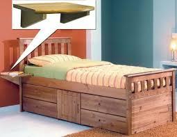 verona pine captains ferrara storage bed single pine captains