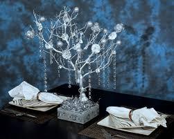 tree centerpieces wedding bells silver manzanita tree centerpieces silver