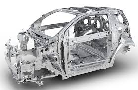 body structure boron extrication toyota iq karosserie