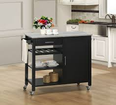 kitchen island cart with granite top inspiring granite top kitchen island cart better homes and gardens