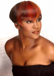 pictures of black women short hairstyles for oval face