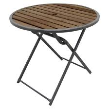 Patio Table Target 84 Threshold Bryant 32 Folding Bistro Table Target Home