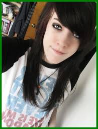 emo hairstyles for really curly hair marvelous haircut for long hair emo hairstyles and fashion grapher
