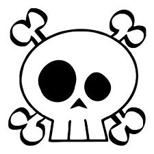 skull crossbones baby one toddler t shirt sandbox threads