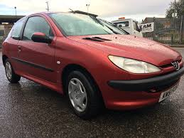 used peugeot 206 3 doors for sale motors co uk