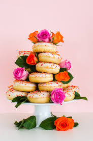 cake diy how to make your own donut wedding cake stand bespoke