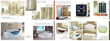 aluminum shower screen with 10mm tempered glass swing shower door