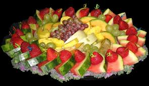 fruit decorations decorating food trays fruit salad decoration plate