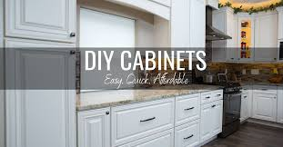 diy espresso kitchen cabinets diy cabinets from easy affordable