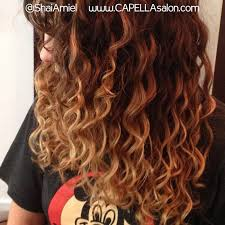 ambre suit curly hair what s the difference between ombre and balayage hair color