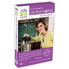 fnac cuisine julie cuisine 40 recettes les plus simples coffret dvd dvd