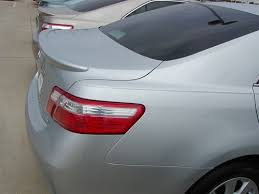 2007 toyota camry spoiler toyota camry lip mount painted rear spoiler 2007 2008 2009