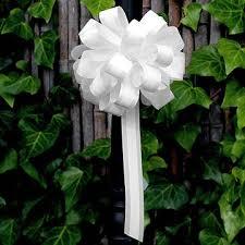 Wedding Pew Decorations 8